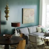 "Elizabeth's ""Eclectic Sophistication"" Room — Room for Color Contest"