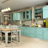 """Tammy's """"Turquoise Whimsy"""" Room — Room for Color Contest"""