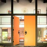 George's Open, Orange-Hued Entryway — Energize Your Entryway Contest