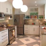 Before & After: Anne's Nod to Mid-Century Kitchen Overhaul — The Big Reveal