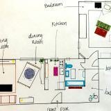 Emily's Lovely L-Shaped Apartment