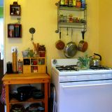 Noelle's Golden Michigan Kitchen — Small Cool Kitchens 2012