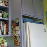 "Andrea's ""Smoky Blue & Citrus"" Room"