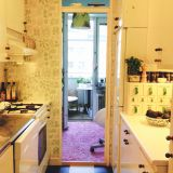 Petri & Elizabeth's Petite Patterned Home — Small Cool