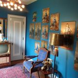 """Jill's """"Peacock Fabdonkulous"""" Room — Room for Color Contest"""