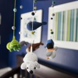 """Cathy's """"Navy & Green Nursery"""" Room — room for color contest"""