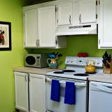 """Adrienne's """"Lovely Lime"""" Room — Room for Color Contest"""