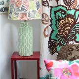 "Suzanne's ""Elegantly Boho"" Room — Room for Color Contest"