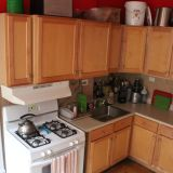 Jenny's Tomato Red Kitchen — Small Cool Kitchens 2012