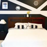 """Marlynn's """"Bold Pattern"""" Room — Room for Color Contest"""