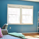 """Rachel's """"Moody Blue"""" Room — Room for Color Contest"""