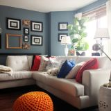 "Ingrid's ""Cool Blue "" Room — room for color contest"