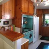 Jocelyn & Roger's Classic Knotty Pine Kitchen — Small Cool Kitchens 2013