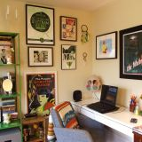 """Christine's """"Kitsch Conservatory"""" Room — Room for Color Contest"""