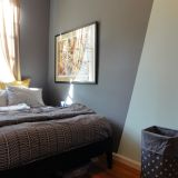 "Catherine's ""Dark Grey & Minty Fresh"" Room — Room for Color Contest"