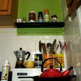 Gail's Sassy Green Rental Kitchen —  Small Cool Kitchens 2012