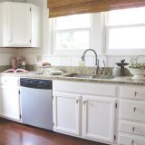 Before & After: Elisa's Bright, White Kitchen Makeover — The Big Reveal