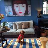"Jerome's ""Indigo Blue"" Room — Room for Color Contest"