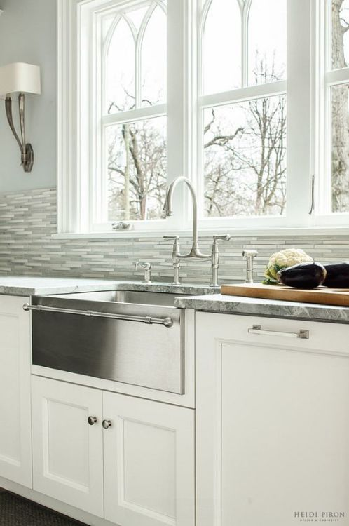 Farmhouse Fabulous All About Apron Sinks Apartment Therapy