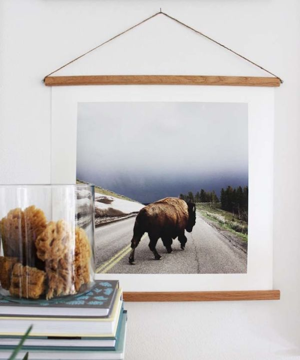 Large Picture Frames You Can Make on the Cheap | Apartment Therapy