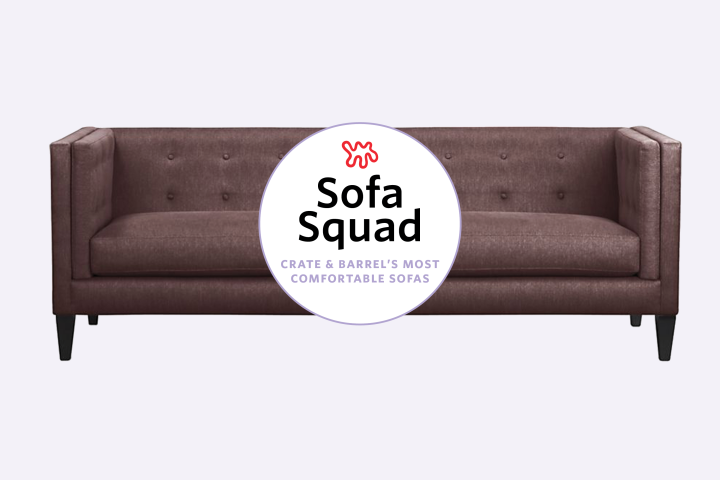 Reviewed: The Most Comfortable Sofas At Crate U0026amp; Barrel | Apartment  Therapy