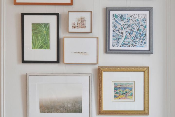 Frugal Living: How To Frame Your Art on the Cheap | Apartment Therapy