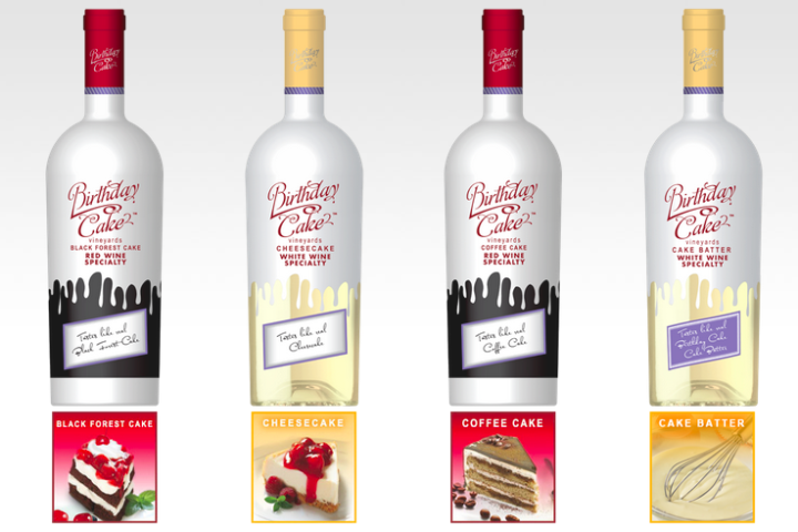 You Can Now Drink Birthday Cake Flavored Wine