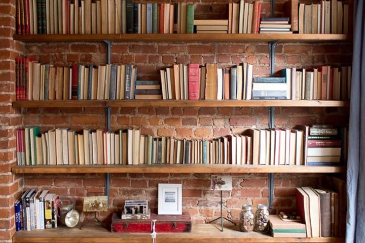 Book Storage Ideas For The Bedroom