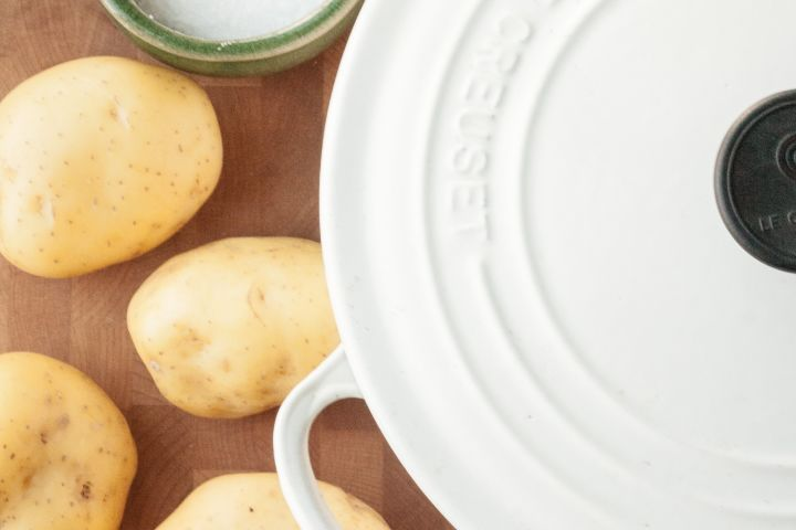 Can a Potato Really Fix a Too-Salty Soup? | Kitchn Er Gold Potatoes on gold eggnog, gold watermelon, gold zucchini squash, gold macarons, gold potato recipes, gold popcorn, gold clam, gold beans, gold milk, gold jerky, gold turnip, gold onion, gold water, gold leaf lettuce, gold wine, gold beets, gold beer, gold sugar, gold dessert, gold stock,