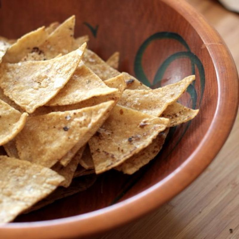how to make own tortilla chips