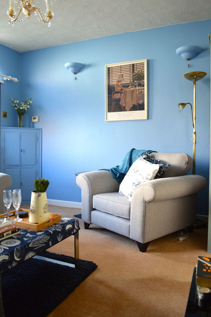 "Alex's ""Venetian Blue"" Room — Room for Color Contest"