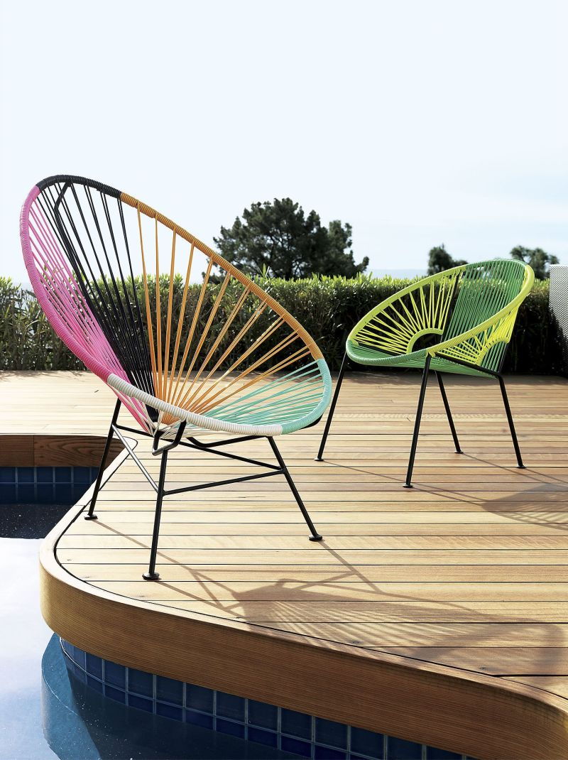 Acapulco Multi Lounge Chair from CB2 - Style On A Budget: 10 Sources For Good, Cheap Outdoor Furniture