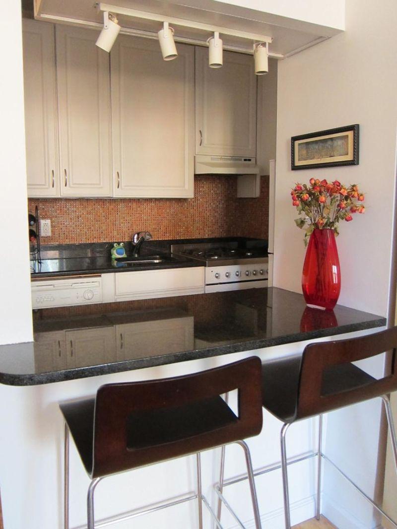 Eleanor's Warm Manhattan Kitchen —  Small Cool Kitchens 2012