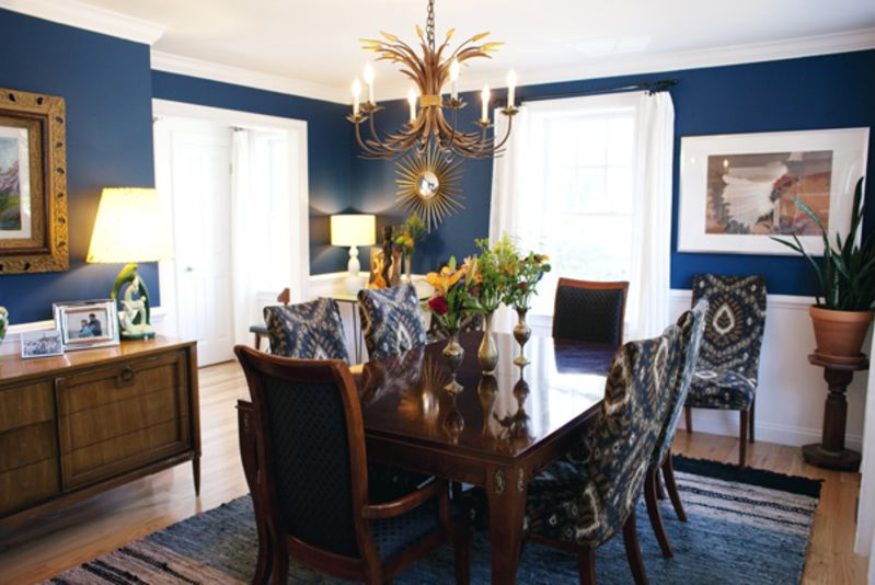 "Kathleen's ""Formal Navy"" Room — Room for Color Contest"