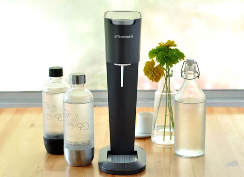 Product Review Sodastream Seltzer Water Maker Kitchn