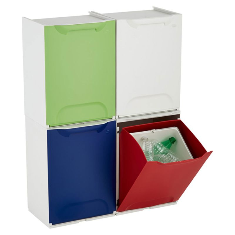 Beau Kitchen Helpers: 10 Multi Compartment Sorting Garbage U0026amp; Recycling Bins  | Apartment Therapy