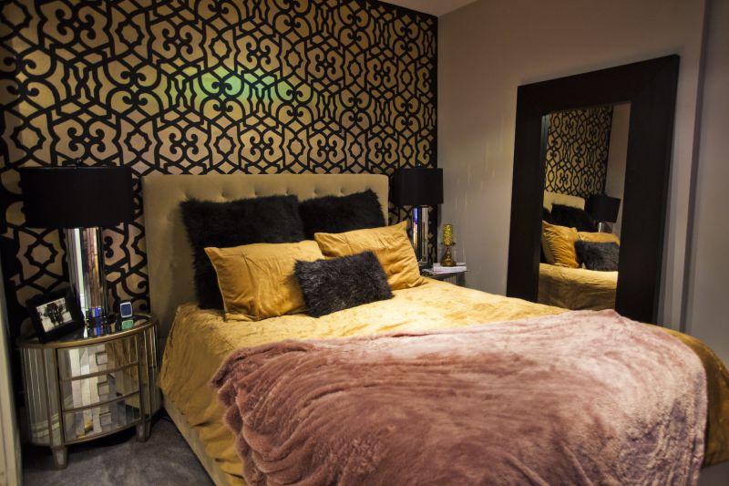 Anya's Stenciled Wall Bedroom — My Bedroom Retreat Contest