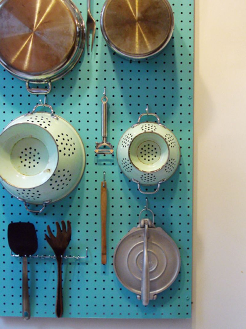 How To: Make a Pegboard Wall Organizer | Apartment Therapy