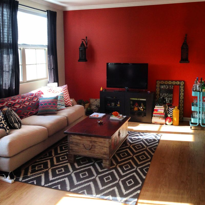 "Rachana 's ""Spice for Life"" Room — Room for Color Contest"