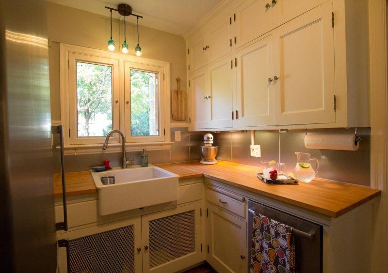 Patrick's Rewarding Kitchen Restoration —  Small Cool Kitchens 2012