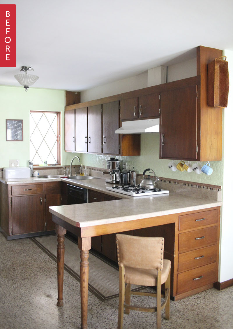 Superior 5 Breathtaking Affordable Kitchen Transformations.  98cac5b8824ffa9dfec076061c9bc13f5981f2d1
