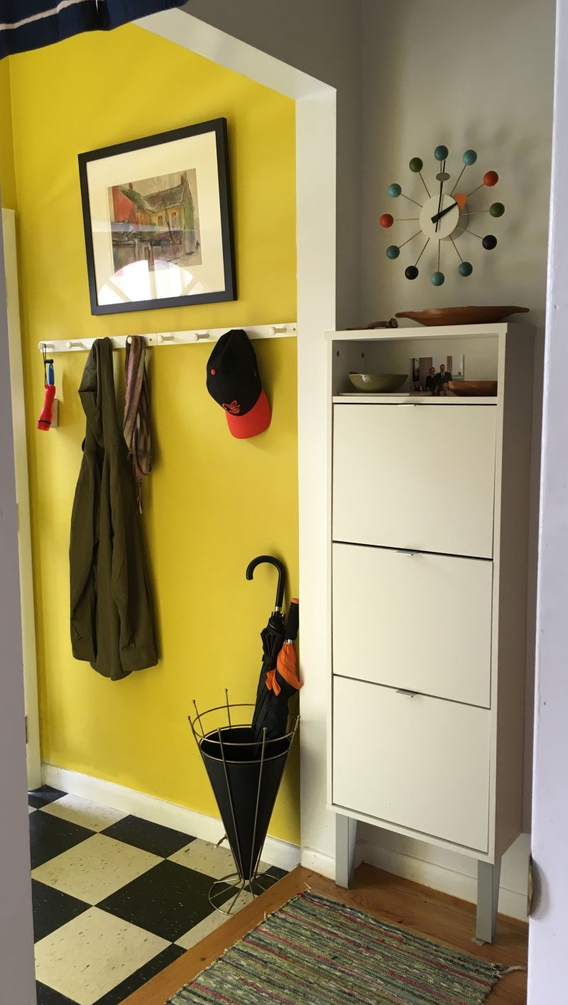 Andrea's Sunny Homecoming Entryway — Energize Your Entryway Contest