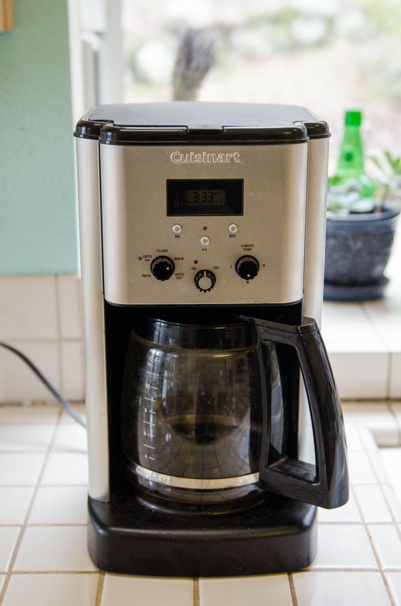 how to clean coffee maker w vinegar