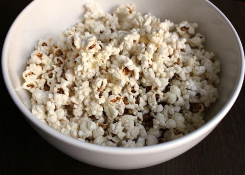 Pot From Heat Immediately Empty Popped Popcorn Into A Serving Bowl