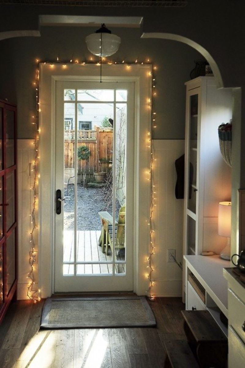 Holiday Decorating: Festive Fairy Lights   Apartment Therapy