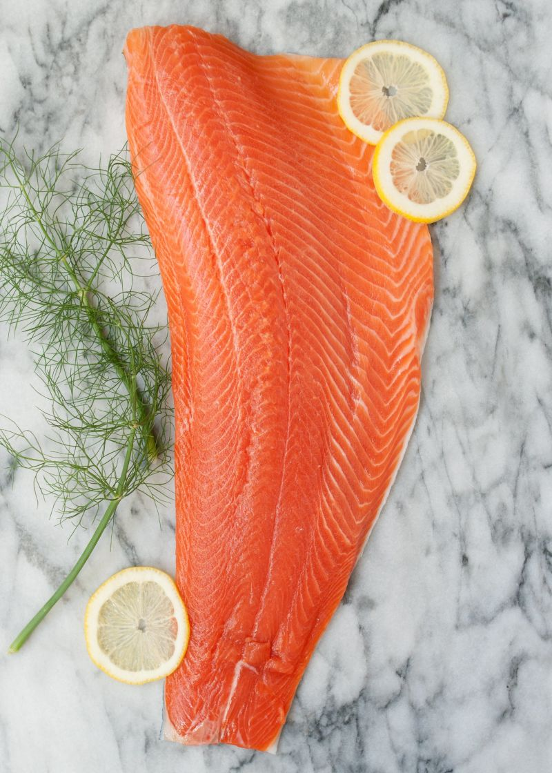How To Cook Salmon In The Slow Cooker Kitchn Mothers Corn Enjoy Fishing Twin Bowl Cut Into Pieces I Usually Large Roughly Same Size Of My Placing Smaller Piece On Top
