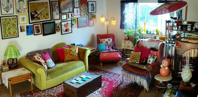 Melanie's Colorful Sanctuary — Small Cool
