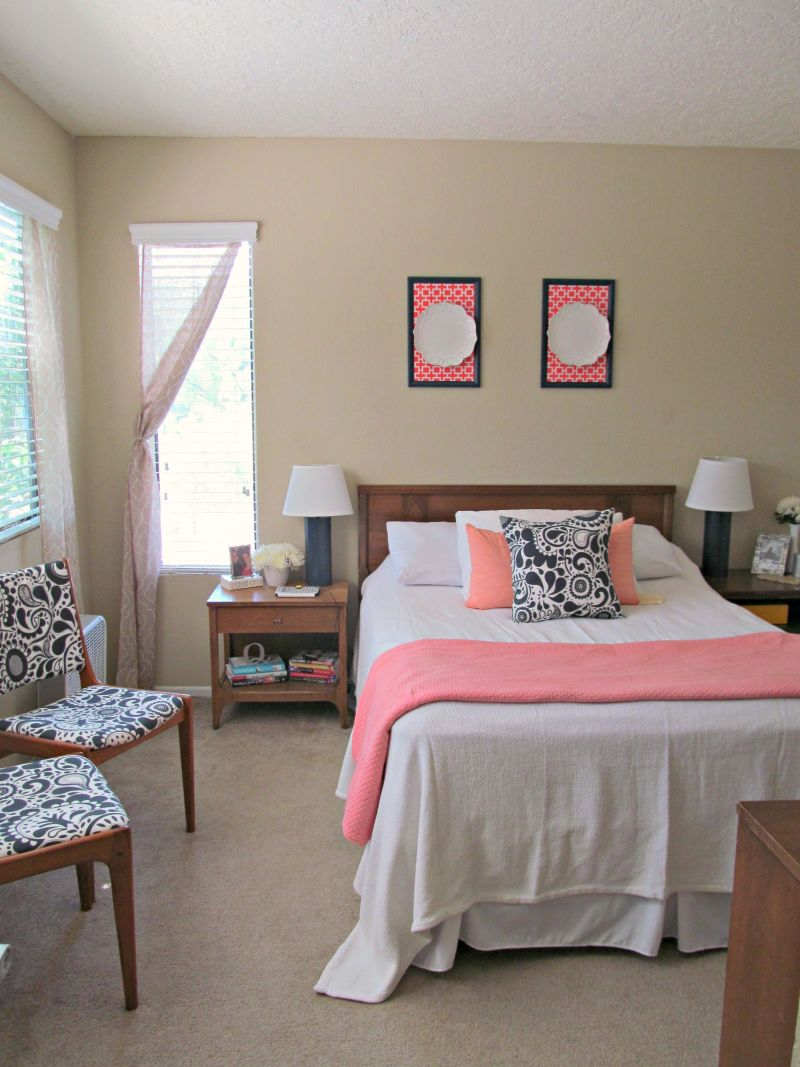 """Julia's """"Color Me Coral"""" Room — Room for Color Contest"""