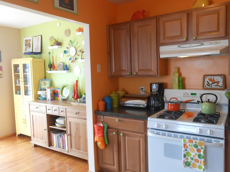 Rachel's Bright, Colorful Kitchen — Small Cool Kitchens 2013