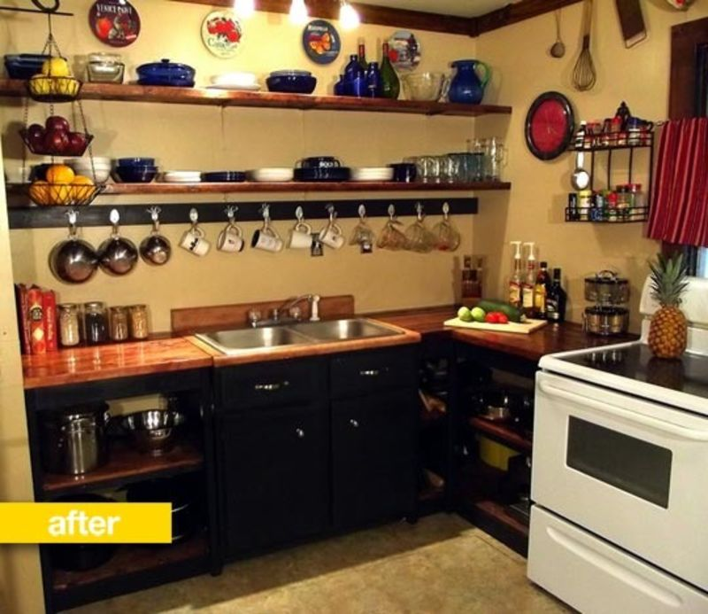 Fit Kitchen: Kitchen Before & After: Cheryl's 'Very Tight Budget' DIY